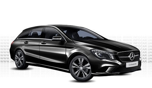Цвета CLA Shooting Brake (X117)